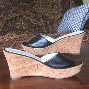 Guess by Marciano Polka Dot Platform Wedges